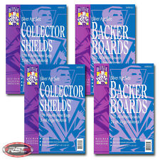 200 - Comic Defense Silver Collector Shields Bags & Silver Backer Boards!