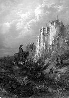 Gustave Dore - Camelot, Idylls Of The King ++ POSTER, DIN-A2 ++ Dimmu Borgir NEU