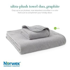 Norwex LIMITED-EDITION Ultra Plush Towel Duo