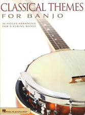 Classical Themes for Banjo 20 Pieces for 5-String Banjo mit Tab Tabulatur