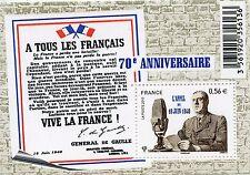 STAMP / TIMBRE DE FRANCE  N° F4493 ** APPEL DU 18 JUIN 1940 GENERAL DE GAULLE