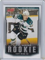 LUKAS KASPAR ROOKIE Card RC 2007 2008 UPPER DECK VICTORY NHL HOCKEY #319 NM/MINT