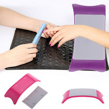 Hand Arm Cushion Pillow Rest for Nail Art Acrylic Manicure Salon Tool Silicone S