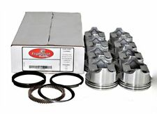 Piston & Ring Kit Chevy 350 5.7L Dish Top 4V .060 Enginetech