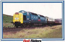 Rail Riders 55019 Royal Highland Fusilier Postcard Unused VGC