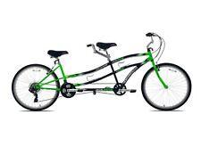 "Tandem Bike Bicycle Beach Cruiser 26"" 21 Speed Two Person Steel Frame Men Women"