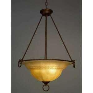 Classic Lighting Livorno Traditional Pendant, English Bronze - 40105EBCRM