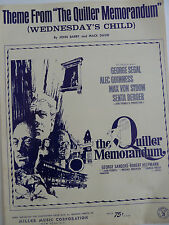 """Theme From """"The Quiller Memorandum"""" (Wednesday's Child) by Barry and David"""