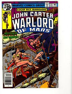 John Carter, Warlord of Mars #23 (4/79) F/VF (7.0)  Great Bronze Age!