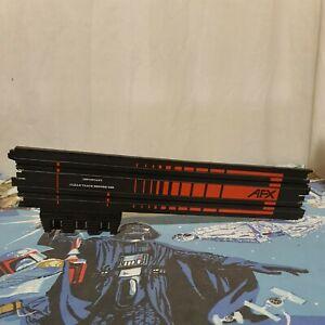 """Aurora AFX Tomy 15"""" Terminal 381MM Genuine Start Slot Car Track Piece 503345"""