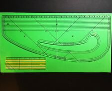 Pattern Maker - Fashion Master + Seam Ruler - Metric - Acrylic - Design-Surgery®