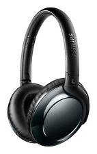 Philips Flite Everlite SHB4805DC Wireless Bluetooth Headphones Mic Black