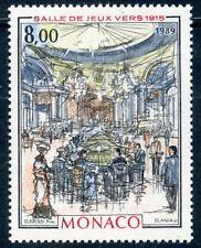 TIMBRE DE MONACO N° 1697 ** ART / TABLEAU / MONACO A LA BELLE EPOQUE / CASINO