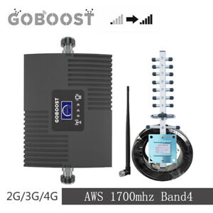 Signal booster AWS 1700/2100mhz Band4 Cell phone Repeater Antenna Kit for data