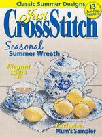 Charts Patterns Cross Stitch Wreath Sampler Peace Projects Tea Lemon Flower Fish