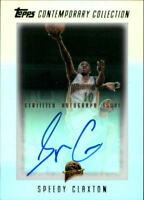 2003-04 Topps Contemporary Collection Basketball Card #140 Speedy Claxton