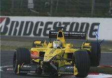 """Jean Alesi """"Jordan"""" autographe signed 20x30 cm image"""