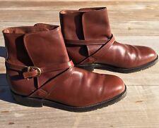 """Allen Edmonds """"St. George"""" Jodhpur Boots 8 D Handcrafted RARE"""