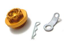 CNC Öleinfüll Deckel Verschluss Schraube Yamaha Aluminium gold (1946726)