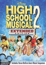High School Musical 2 (Dvd, 2007, Extended Edition) New