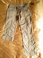 EDC ESPRIT PLAY TURN UP CARGO FREIZEIT HOSE NUDE ALTROSA L, 40/32 REGULAR NEU