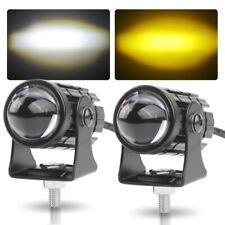 2x Led Work Light Spot Lamp Fog Driving Pods Offroad Suv Truck Atv Yellow White