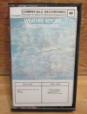 WEATHER REPORT SWEETNIGHTER PAPER LABEL CASSETTE TAPE FUSION SHORTER ZAWINUL
