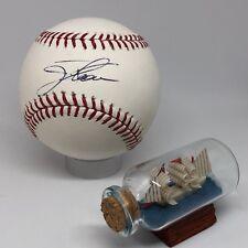 Jim Thome signed Rawlings OML Baseball JSA HOF Phillies Indians A753