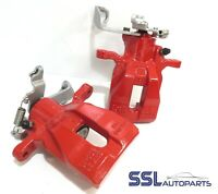 Mini Cooper S / One F55 F57 2013> RED Pair Rear Remanufactured Brake Calipers
