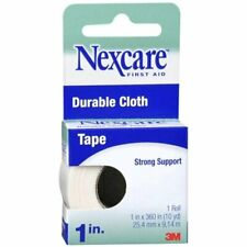 Nexcare Durable Cloth Tape 1 Inch 10 Yards