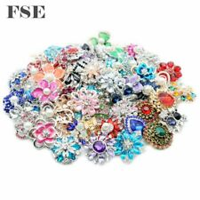 Wholesale 18mm Snap Button Multi Rhinestone Snap Charms For 20mm Snap Jewelry 14