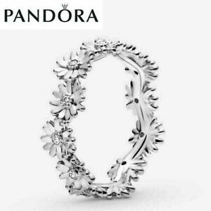 ALE S925 Genuine Sterling Silver Pandora Sparkling Family Ring & With Gift Box