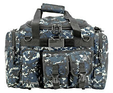 A-10 Tactical Duffle Bag Shooter Operator Go Pack Survival Pilot Bag BLUE DIGI*