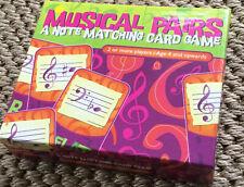 Musical Pairs - A Note Matching Card Game to Help Learn Music
