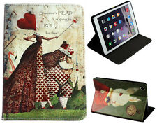 iPad Mini 1 2 3 4 5 Alice In Wonderland Smart Stand Fairy Tal Vintage Case Cover