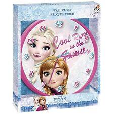 Kids EUROSWAN Disney - Reine des Neiges Montre de Mur Wd17829