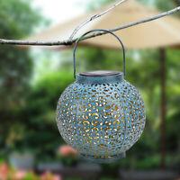 LED F8 Straw Hat Lamp Beads Solar Light Control IP44 Outdoor Waterproof IronLamp