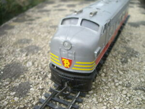 TRIANG HORNBY R57 TRANSCONTINENTAL SERIES CLASS F7 SINGLE ENDED DIESEL DUMMY!!!