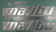 "Malibu boat Emblem 22.5"" Stickers Set - Adesivi Barca"