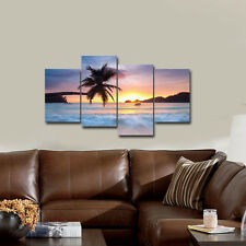 Modern Canvas Print Painting Picture Home Decor Landscape Sea Wall Art Framed