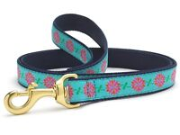 Up Country - Dog Puppy Design Leash - Made In USA - Dahlia Darling - 4, 6 Foot