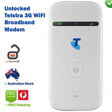 Telstra 3G WiFi Hotspot Mobile Broadband Wireless Modem ZTE MF65 UNLOCKED