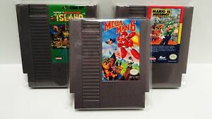 500 Video Game Cartridge Bags   DVD CD, NES,SNES,N64,ATARI, SEGA AND MORE!