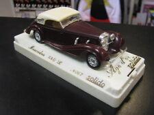 Solido Mercedes 540 K 1:43 donker rood