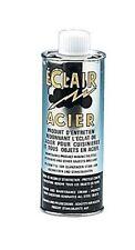 produit entretien DECOR ACIER ECLAIR rénove redonne de l'éclat à l'acier 250 ML