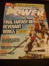 2007 NINTENDO POWER MAGAZINE FINAL FANTASY XII REVENANT WINGS ZELDA GUITAR HERO