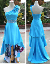 NWT JUMP APPAREL $200 Turquoise Formal Prom Ball Gown 3