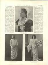 1897 The Queen's Visit To Sheffield Alderman Clegg Franklin Miss Kate Cutler