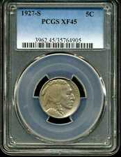 1927-S 5C Buffalo Nickel XF45 PCGS 35764905