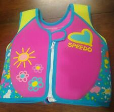 SPEEDO PERSONAL FLOTATION DEVICE YOUTH 2-4 years GIRLS 33-45 LBS LIFE JACKET